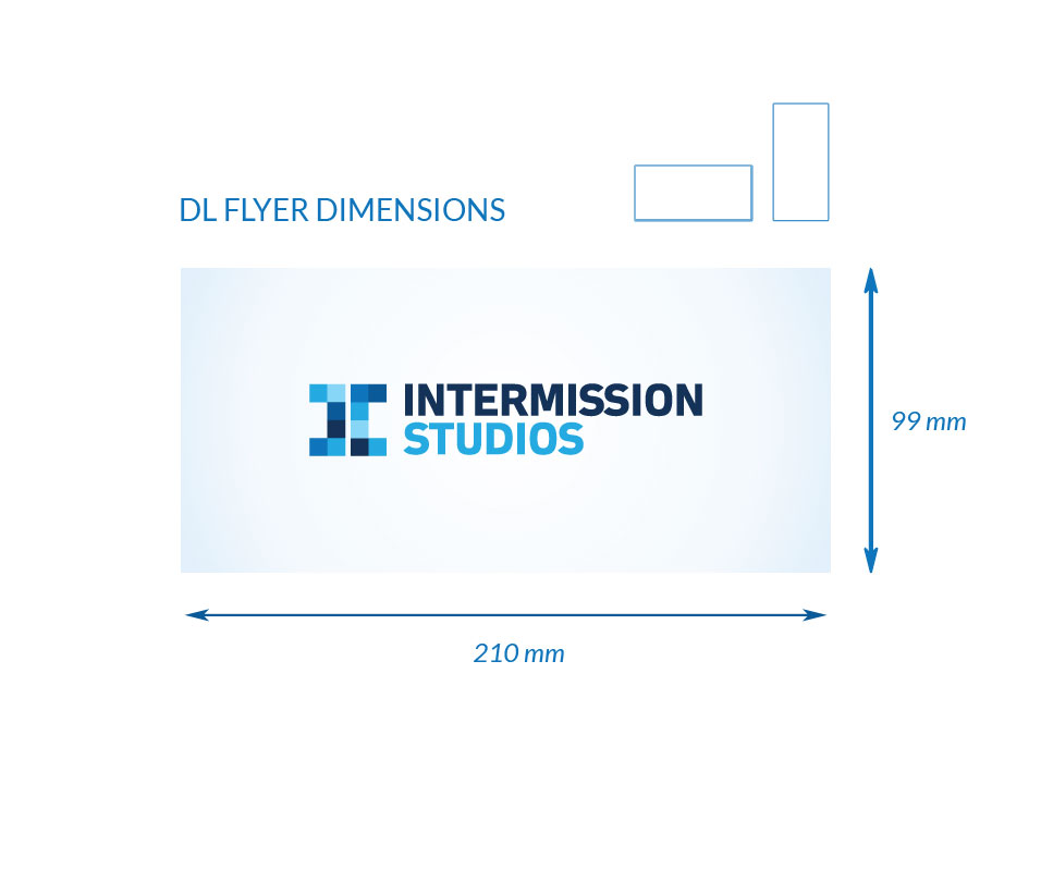 Dimensions for DL Flyer
